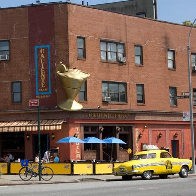 experience newyork un vieux taxi dans West Village