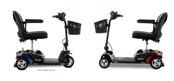 3 wheel and 4 wheel go go scooter