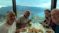Dinner at gondola, Queenstown
