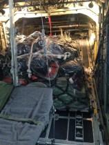 intérieur avion militaire
