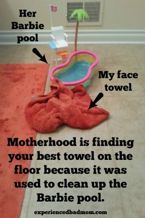 MotherhoodisBarbiepool