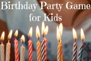 The Best Birthday Party Game for Kids