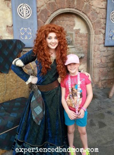 Meeting Princess Merida