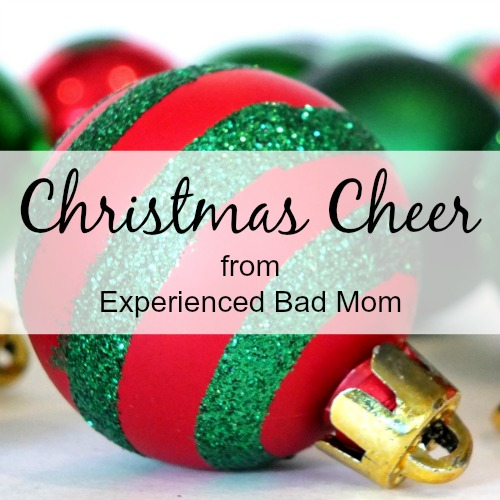 Check out the two ways to spread Christmas cheer on ExperiencedBadMom.com!