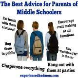 The Best Advice for Parents of Middle Schoolers or Tweens
