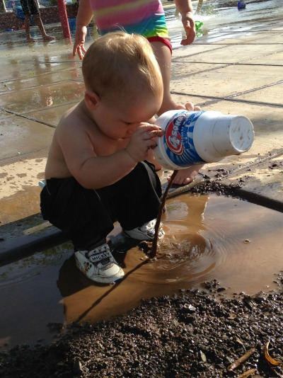 If Toddlers Ran the Morning news Weather forecasts would include if the day was good for playing in the Mud!