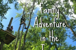 A Grand Family Adventure in the Trees: a review of Grand Rapids Treetop Adventure Park