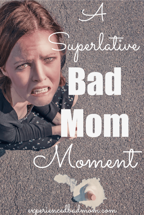 "Here's a superlative bad moment starting poop. Moms, if you're not perfect and you need a laugh like those inspired by the hit movie ""Bad Moms"", then you gotta read this story!"