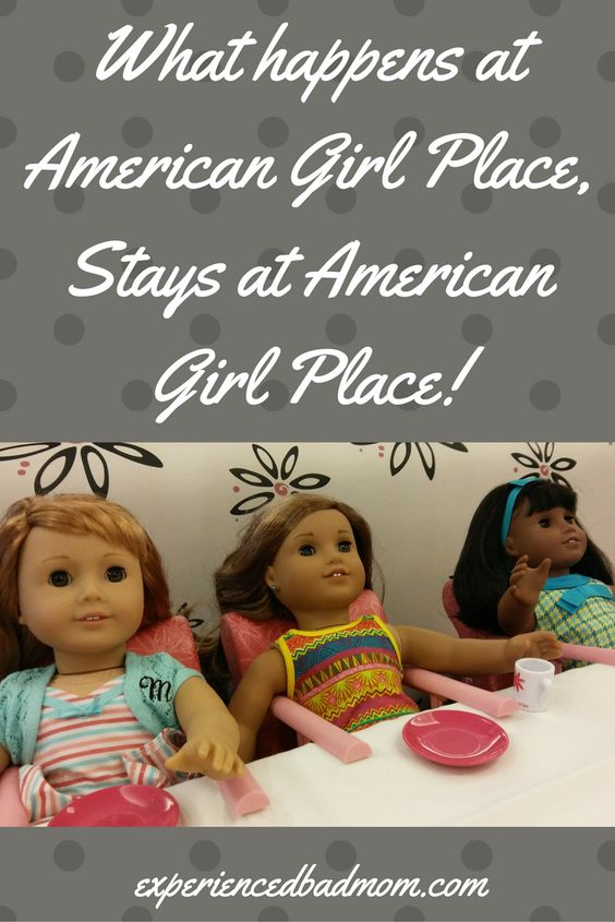 What happens at American Girl Place Chicago, Stays at American Girl Place! A funny story about American Girl dolls to brighten your day.