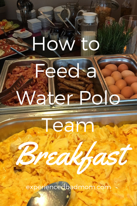 Here's How to Feed a Water Polo Team Breakfast.