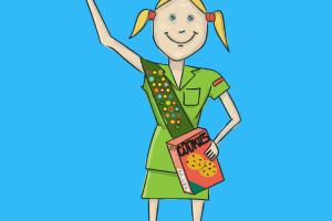 Girl Scout Cookies in the Neighborhood