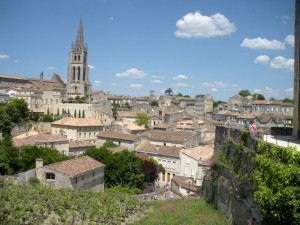 View of St. Emilion