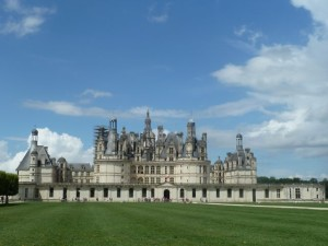 First view of Chambord