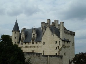 View of castle from Hotel Le Bussy