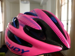My new Rudy Project helmet!