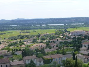 View from Pope's castle
