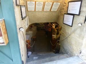 Tasting cellars