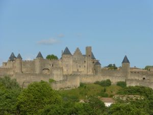 13th century fortress city of Carcassonne