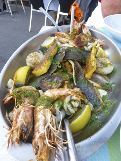 Seafood from Languedoc