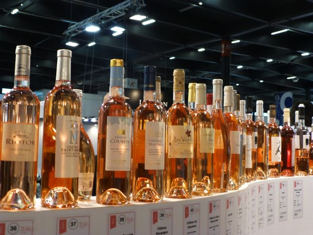 So many rose wines to choose from!