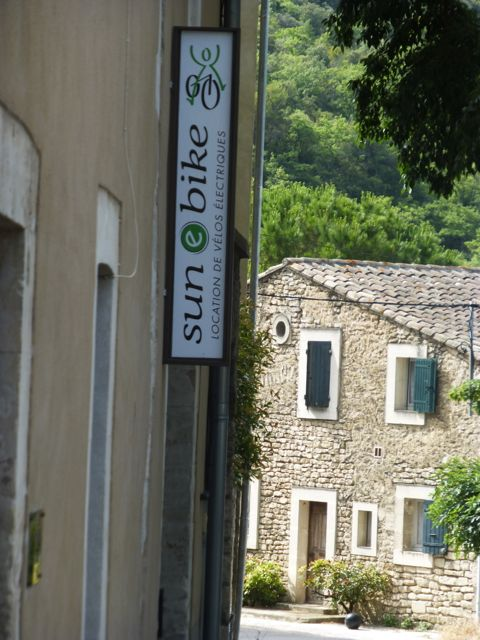 Easy to find in Bonnieux