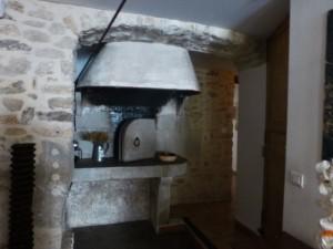 Restored baker's oven