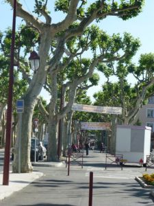Main street in Castelnaudary