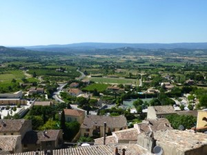 View of Bonnieux from the top of the village