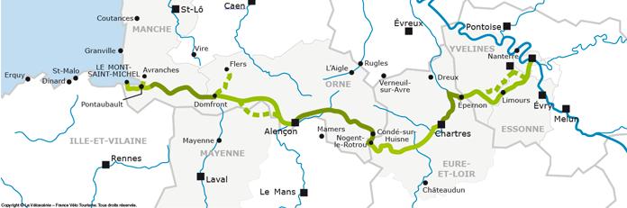 La Veloscenic route