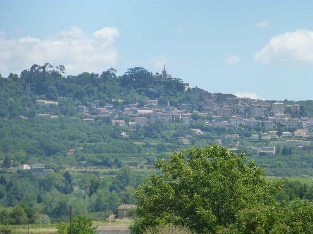 Scenes along the Veloroute du Cavalon in the Luberon