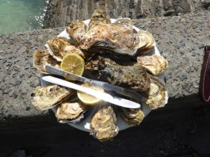 Cancale oysters