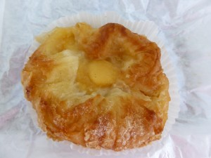 The incredibly decadent local specialty Kouign Amann