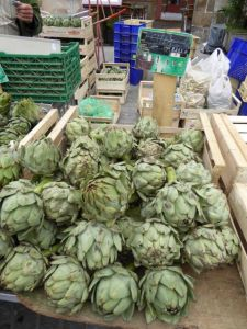 Very popular artichokes