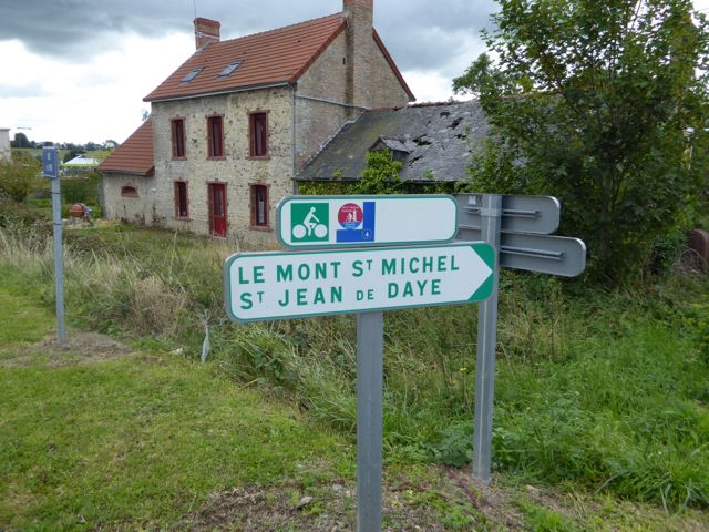On our way to Mont Saint Michel