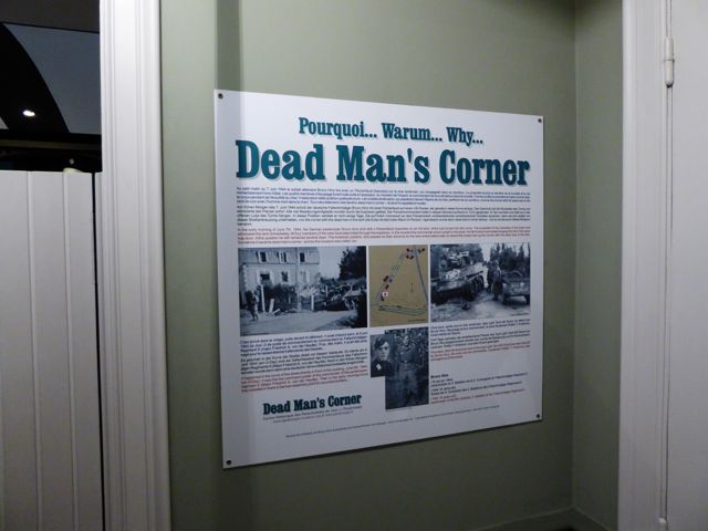 Dead Man's Corner, site of a pivotal battle during Normandy invasion