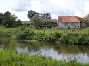 Typical view along the Vire River