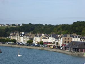 The charming port of Cancale