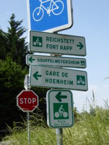 Great signposting and The Forts Trail map help guide your adventure