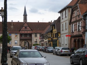I fell in love with the town of Rosheim, on the way to Obernai