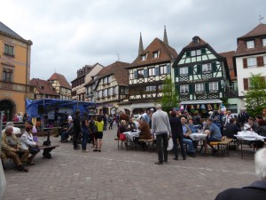 Obernai town square