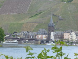 Beautiful villages line the Mosel
