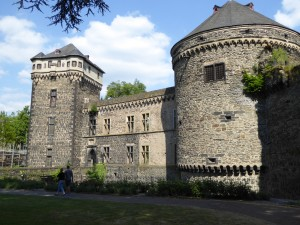 Historical towns like Andernach on the Rhine