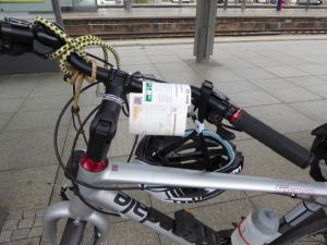 Bike reservation and ticket for Eurocity train from Mainz to Strasbourg