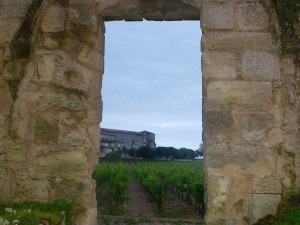 Bicycling through history and the vineyards