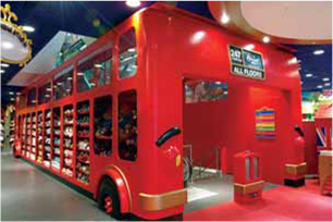 Hamleys Regent Street, London Double-decker Bus