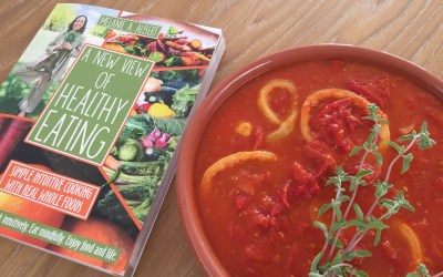 A New View of Healthy Eating: Quick Organic Tomato-Lemon Sauce Step-by-Step Videos
