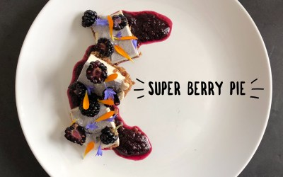 Experience Nutrition: Super Berry Cashew Cream Pie: Delicious Plant-Based Desserts by Melanie Albert, Part 1 of 4