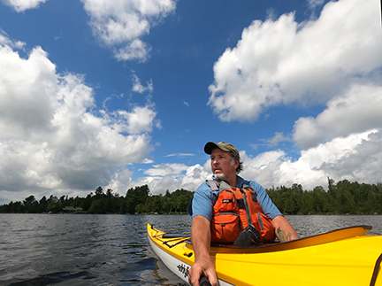 Nick Leadley, guide, photographer, Rangeley, Maine