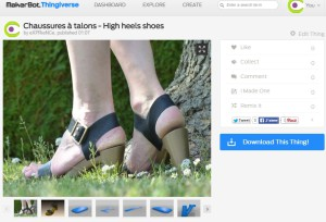 Thingiverse chaussures