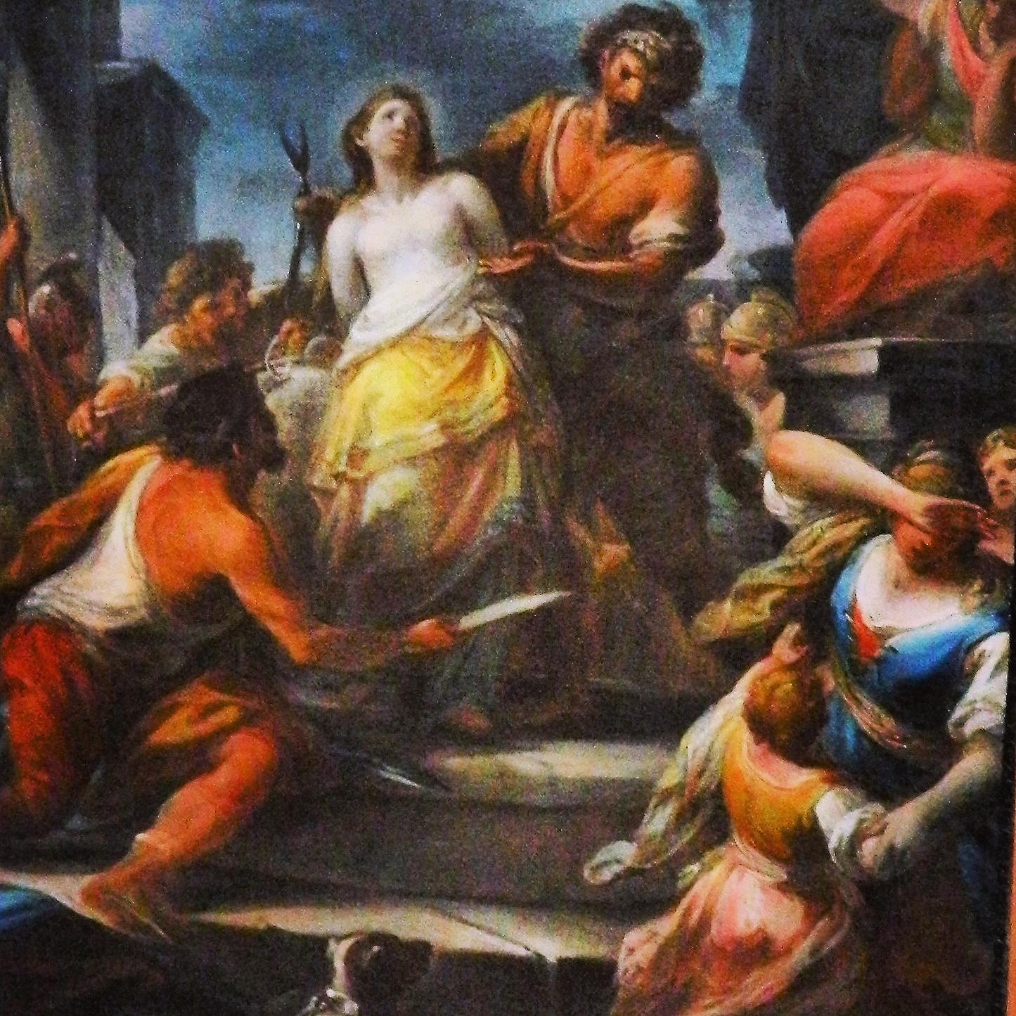 The Legend of Sant'Agata or Saint Agnes (Saint Agatha), Part